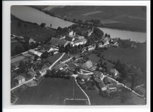 ZZ-0579/ Jettenbach bei Mühldorf seltenes Foto Luftbild 1938 18 x 13 cm