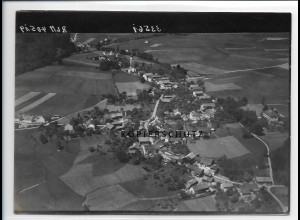 ZZ-0580/ Haiming seltenes Foto Luftbild 1938 18 x 13 cm