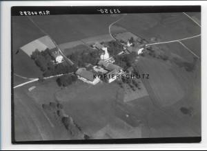 ZZ-0586/ St. Martin b. Niedergeislbach seltenes Foto Luftbild 1938 18 x 13cm