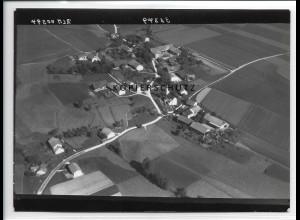 ZZ-0587/ Obergeislbach b. Lengdorf seltenes Foto Luftbild 1938 18 x 13 cm