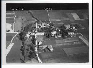 ZZ-0594/ Jettenstetten b. Taufkirchen seltenes Foto Luftbild 1938 18 x 13 cm