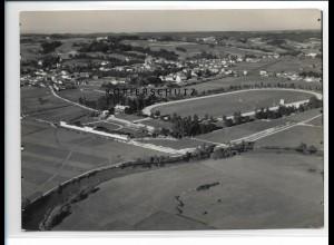 ZZ-0597/ Pfarrkirchen Trabrennbahn seltenes Foto Luftbild 1938 18 x 13 cm