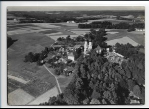 ZZ-0598/ Pfarrkirchen seltenes Foto Luftbild 1936 18 x 13 cm