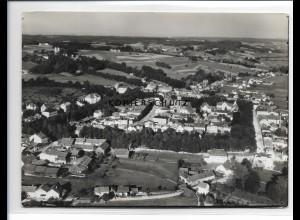 ZZ-0599/ Pfarrkirchen seltenes Foto Luftbild 1936 18 x 13 cm