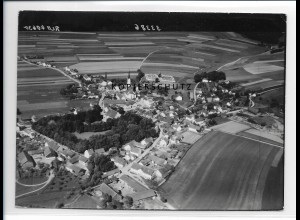 ZZ-0601/ Gerzen seltenes Foto Luftbild 1938 18 x 13 cm