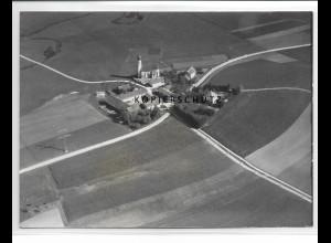 ZZ-1543/ Johanniskirchen Foto seltenes Luftbild 1938 18 x 13 cm