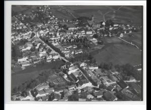 ZZ-1540/ Vilsbiburg Foto seltenes Luftbild 1938 18 x 13 cm