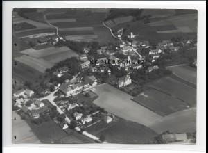 ZZ-1545/ Bruckberg b. Landshut Foto seltenes Luftbild 1938 18 x 13 cm