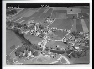 ZZ-1548/ Aham Foto seltenes Luftbild 1938 18 x 13 cm