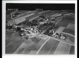 ZZ-1531/ Loizenkirchen Foto seltenes Luftbild 1938 18 x 13 cm