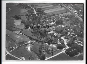 ZZ-1530/ Marklhofen Foto seltenes Luftbild 1938 18 x 13 cm