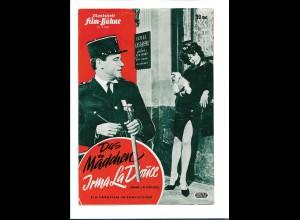 C3762/ IFB S 6582 Filmprogramm Das Mädchen Irma La Douce - Shirley MacLaine