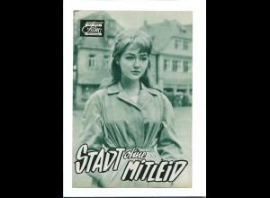"""C3763/ Das Neue Film-Programm """"Stadt ohne Mitleid"""" Christine Kaufmann K. Douglas"""