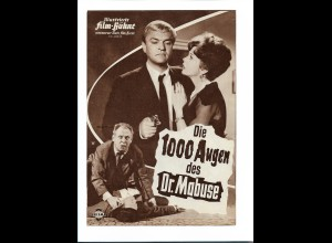 "C3761/ IFB 05412 Filmprogramm ""Die 1000 Augen des Dr. Mabuse"" Peter van Eyck"