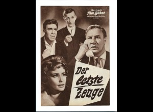 "C3760/ IFB 05552 Filmprogramm ""Der letzte Zeuge"" Hanns Lothar, Martin Held"