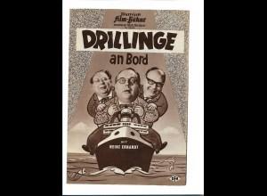 "C3758/ IFB 05104 Filmprogramm ""Drillinge an Bord"" Heinz Erhardt"