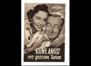 """C3756/ IFB 1961 Filmprogramm """" Keine Angst vor grossen Tieren"""" Heinz Rühmann"""