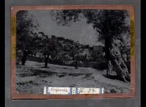 Y15534/ Altes Glasnegativ Nazareth Palästina ca.1900