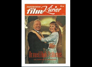 C3765/ Ill. Film-Kurier Filmprogramm Dr. med Hiob Prätorius - Heint Rühmann