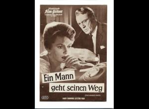 C3751/ IFB 05855 Filmprogramm Ein Mann geht seinen Weg - Cary Cooper, Deb. Kerr