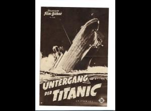 C3749/ IFB 2048 Filmprogramm Untergang der Titanic