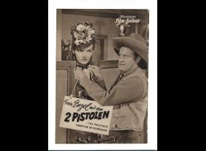 """C3747/ IFB 782 Filmprogramm """"Sein Engel mit den 2 Pistolen"""" Western Jane Russell"""