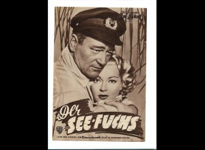 "C3746/ IFB 2894 Filmprogramm ""Der See-Fuchs"" John Wayne, Lana Turner"