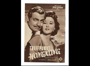 C3745/ IFB 2856 Filmprogramm Treffpunk Hongkong - Clark Gable, Susan Hayward