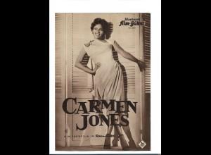 "C3743/ IFB 3270 Filmprogramm ""Carmen Jones"" Dorothy Dandridge , H. Belafonte"
