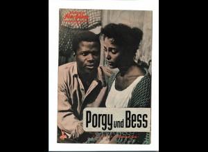 """C3742/ IFB 05500 Filmprogramm """"Poggy und Bess"""" Sidney Portier, D. Dandridge"""