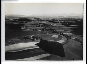 ZZ-0660/ Bimisdorf bei Wangen seltenes Foto Luftbild 1935 18 x 13 cm
