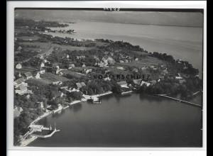 ZZ-0654/ Nonnenhorn bei Lindau seltenes Foto Luftbild 1939 18 x 13 cm