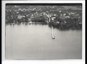 ZZ-0652/ Nonnenhorn bei Lindau seltenes Foto Luftbild 1939 18 x 13 cm