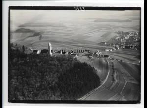 ZZ-0650/ Bussen und Offingen seltenes Foto Luftbild 1937 18 x 13 cm