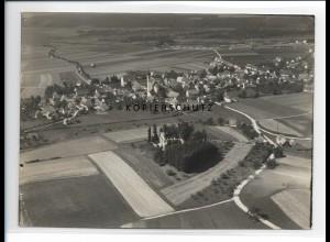 ZZ-5223/ Ummendorf Foto seltenes Luftbild 18 x 13 cm ca.1938