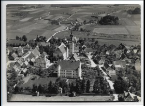 ZZ-5222/ Ummendorf Foto seltenes Luftbild 18 x 13 cm ca.1938