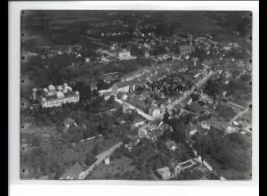 ZZ-0645/ Tettnang seltenes Foto Luftbild ca.1938 18 x 13 cm