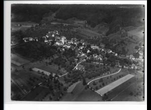 ZZ-0643/ Laimnau bei Tettnang seltenes Foto Luftbild ca.1938 18 x 13 cm