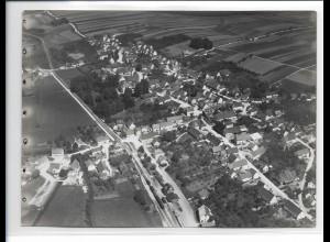 ZZ-0639/ Schwendi seltenes Foto Luftbild 1937 18 x 13 cm