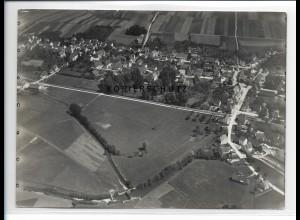 ZZ-0638/ Schwendi seltenes Foto Luftbild 1937 18 x 13 cm