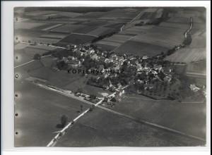 ZZ-0636/ Großschaffhausen Schwendi seltenes Foto Luftbild 1937 18 x 13 cm