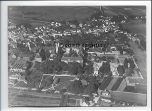 ZZ-0634/ Schussenried seltenes Foto Luftbild 1937 18 x 13 cm