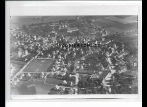 ZZ-0632/ Schussenried seltenes Foto Luftbild 1937 18 x 13 cm