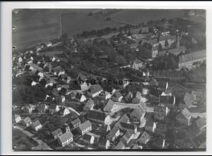 ZZ-0631/ Schussenried seltenes Foto Luftbild 1937 18 x 13 cm