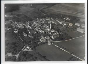 ZZ-0628/ Reichenbach bei Schussenried seltenes Foto Luftbild 1937 18x13 cm