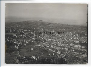 ZZ-0610/ Lahr i. B. seltenes Foto Luftbild ca. 1935 18 x 13 cm