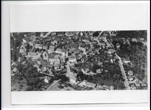 ZZ-0607/ Haslach Schwarzwald seltenes Foto Luftbild 1935 18 x 13 cm