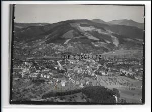 ZZ-0606/ Haslach Schwarzwald seltenes Foto Luftbild 1935 18 x 13 cm