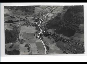 ZZ-0605/ Mühlenbach b. Wolfach seltenes Foto Luftbild 1937 18 x 11 cm