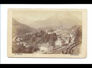 S2061/ CDV Foto Berchtesgaden Foto J. Scherle, Reichenhall ca. 1865